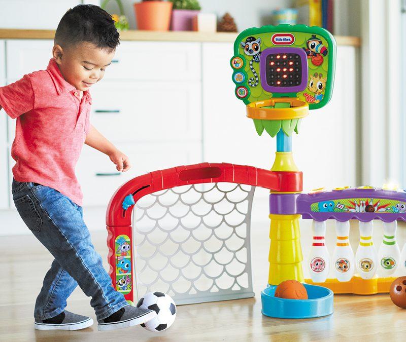 Artykuły i zabawki sportowe dla dzieci już od najmłodszych lat
