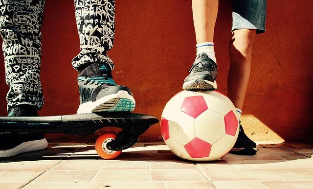 Artykuły sportowe dla aktywnych dzieciaków